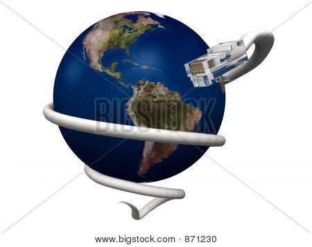 World Internet-Verbindung