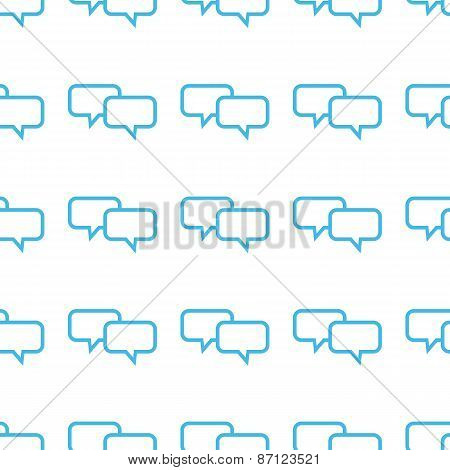 Unique Dialog seamless pattern