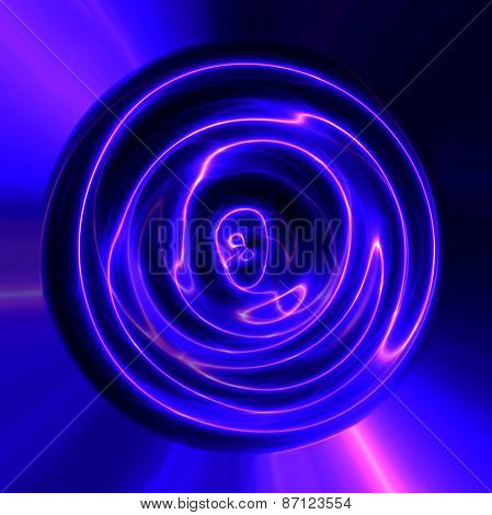 Abstract Blue Violet Plasma Electric Lightning Texture Usable Seamlessly