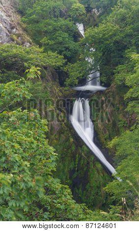 Llanberis Falls, Ceunant Mawr Waterfall