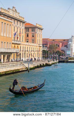 Buildings And Gondola