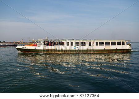 Boat In The Venetian Lagoon
