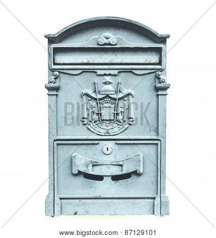 Vintage Steel Mailbox