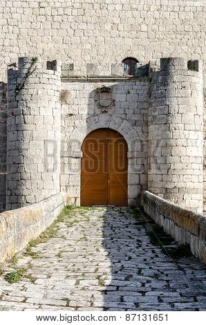 Castle Of Simancas Entrance