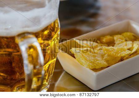 Jar Of Cold Beer