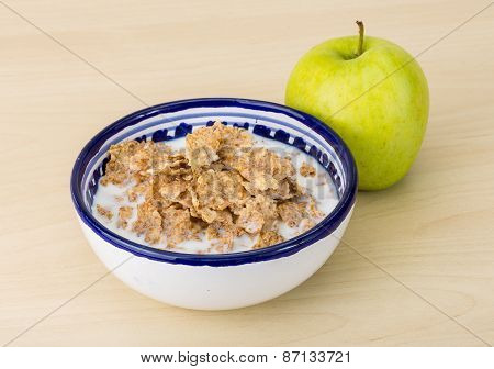 Cornflakes And Apple