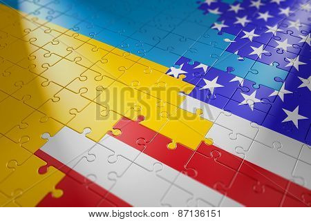 Puzzles In The Form Of Flags