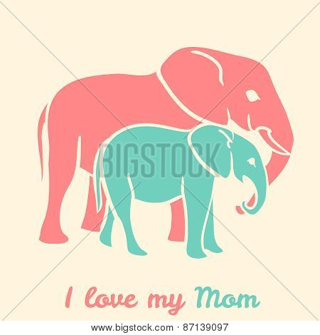 Mothers day elephants