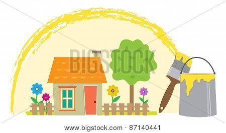 Painting The Neighborhood