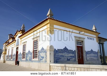 Sines Railway Station Building