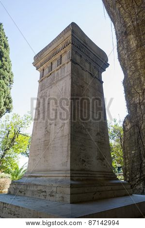 Tomb Of Giacomo Leopardi