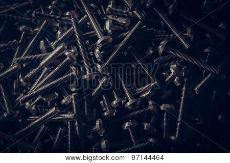 Custom Hex Head Bolt Screw Thread