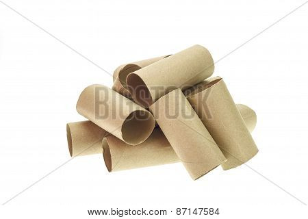Stack Of Paper Tube