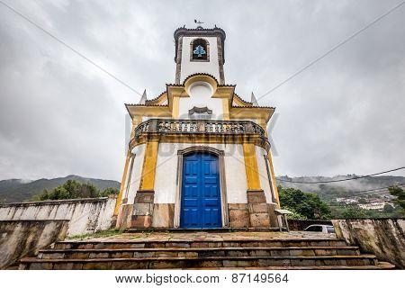 View of a church, ouro preto,brazil