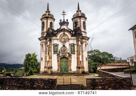 the Igreja de Sao Francisco de Assis