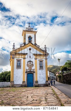 View of a church, ouro preto,brazil
