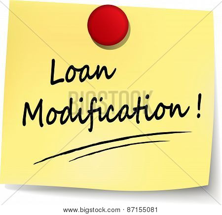 Loan Modification Note