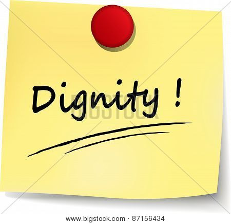 Dignity Note