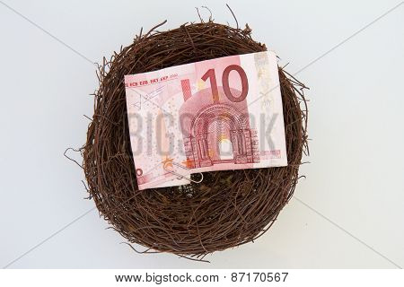 Euros in a Nest
