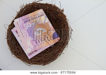 NZ Notes in a Nest