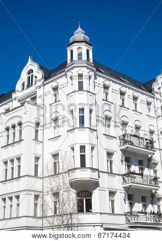 Old residential building in Berlin