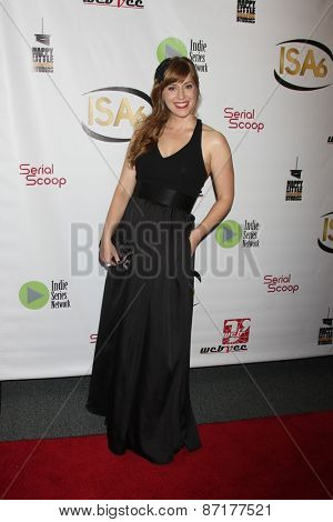 LOS ANGELES - APR 1:  Susannah Wells at the 6th Annual Indie Series Awards at the El Portal Theater on April 1, 2015 in North Hollywood, CA