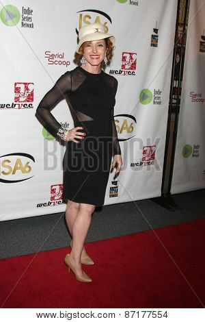 LOS ANGELES - APR 1:  Mhairi Morrison at the 6th Annual Indie Series Awards at the El Portal Theater on April 1, 2015 in North Hollywood, CA