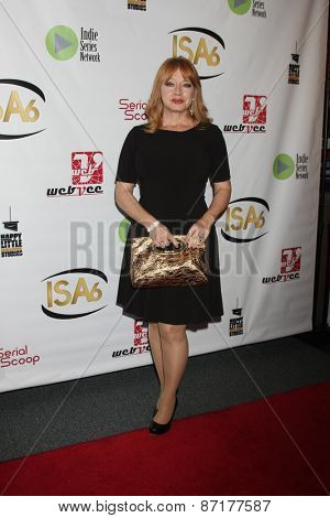 LOS ANGELES - APR 1:  Andrea Evans at the 6th Annual Indie Series Awards at the El Portal Theater on April 1, 2015 in North Hollywood, CA
