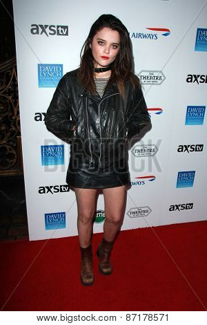 LOS ANGELES - APR 1:  Sky Ferreira at the The Music Of David Lynch at the Ace Hotel on April 1, 2015 in Los Angeles, CA