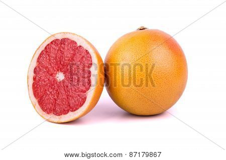 Grapefruit With Half