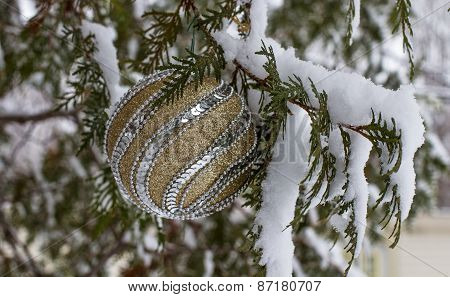 Elegant Christmas Tree Background