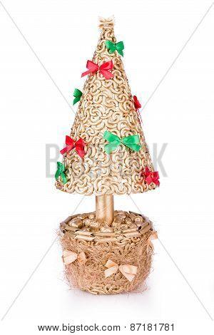 Souvenir Gold Christmas Tree