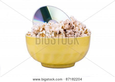 Disc In Popcorn