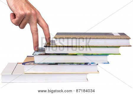 Staircase From Books