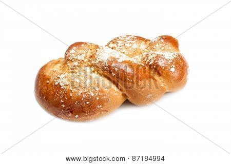 Challah Loaf Of Fresh Coarsely