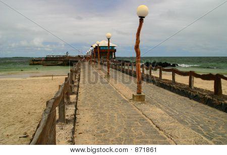 Pier in Puerto Villamill