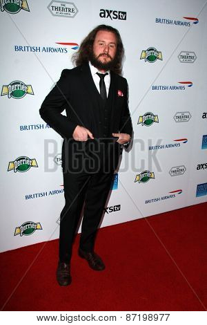 LOS ANGELES - APR 1:  Jim James at the The Music Of David Lynch at the Ace Hotel on April 1, 2015 in Los Angeles, CA