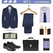 picture of jacket  - Male accessories including suit - JPG