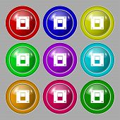 foto of toggle switch  - Power switch icon sign - JPG