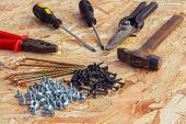 picture of pliers  - construction tools - JPG