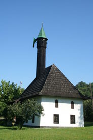 image of mosk  - Old mosk placed in the Tuzla city - JPG