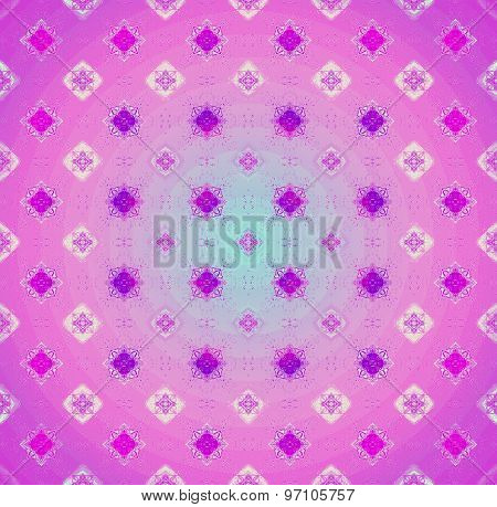 Seamless pattern purple pink