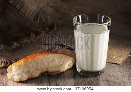 A Glass Of Fresh Milk