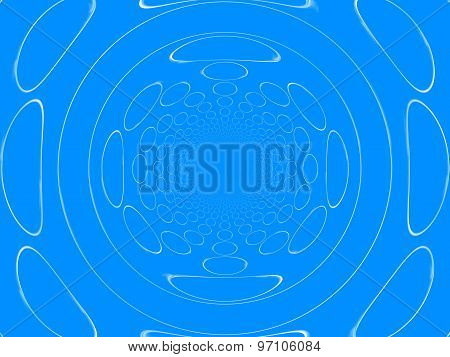 Abstract Circle Cloud Bubble Background