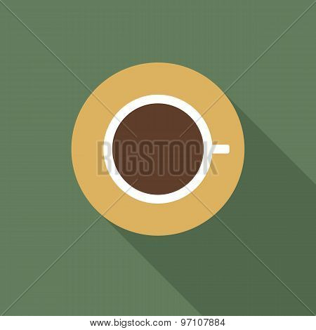 Icon of a cup of coffee