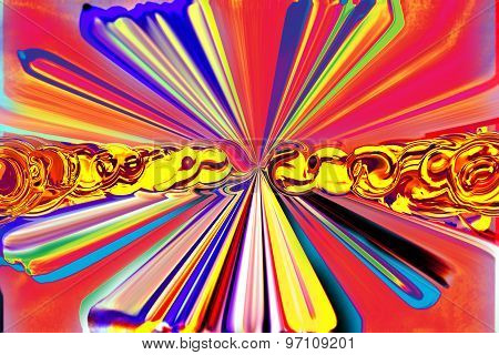 Abstract Background In Colorful Paints