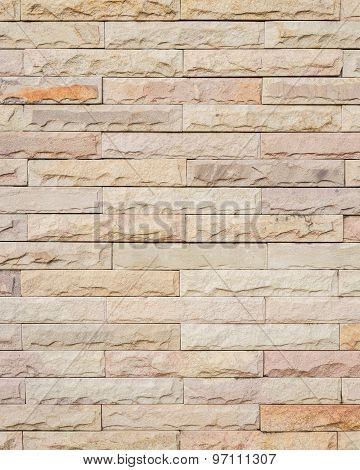 Pattern Sandstone Wall Background And Texture