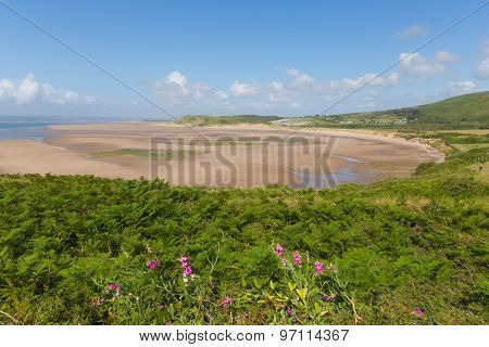 Broughton Bay beach The Gower South Wales UK near Rhossili