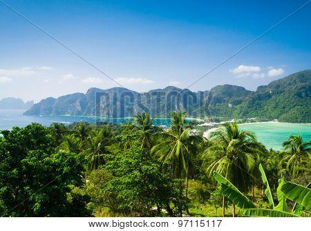 Idyllic Panorama High Viewpoint