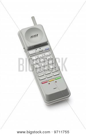 Wireless Telephone Handset